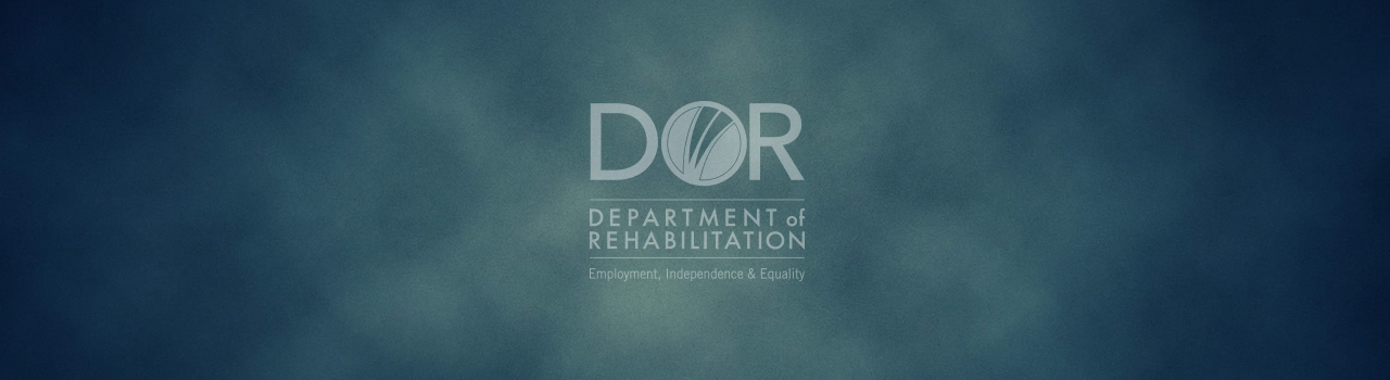 official d o r logo on smokey blue background